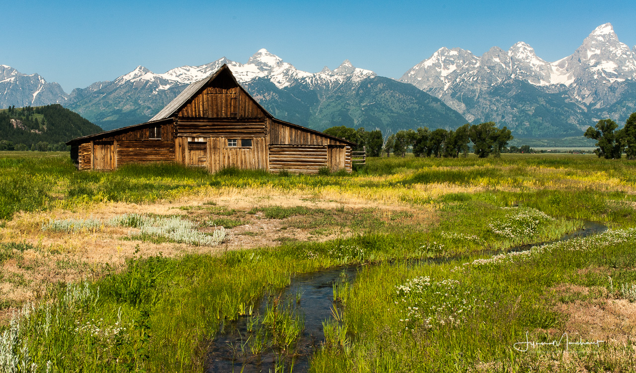Homestead in Grand Teton National Park